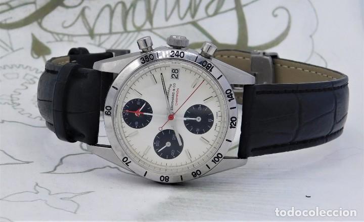 Relojes automáticos: EBERHARD-CRONOGRAFO-AUTOMATICO-PRECIOSO RELOJ DE PULSERA-FUNCIONANDO - Foto 8 - 244755155