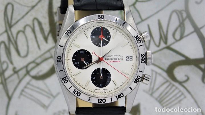Relojes automáticos: EBERHARD-CRONOGRAFO-AUTOMATICO-PRECIOSO RELOJ DE PULSERA-FUNCIONANDO - Foto 5 - 244755155