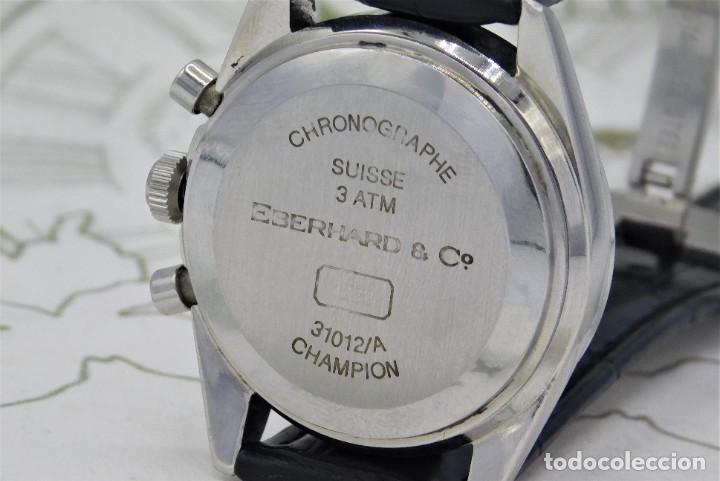 Relojes automáticos: EBERHARD-CRONOGRAFO-AUTOMATICO-PRECIOSO RELOJ DE PULSERA-FUNCIONANDO - Foto 4 - 244755155