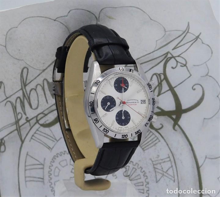 Relojes automáticos: EBERHARD-CRONOGRAFO-AUTOMATICO-PRECIOSO RELOJ DE PULSERA-FUNCIONANDO - Foto 3 - 244755155