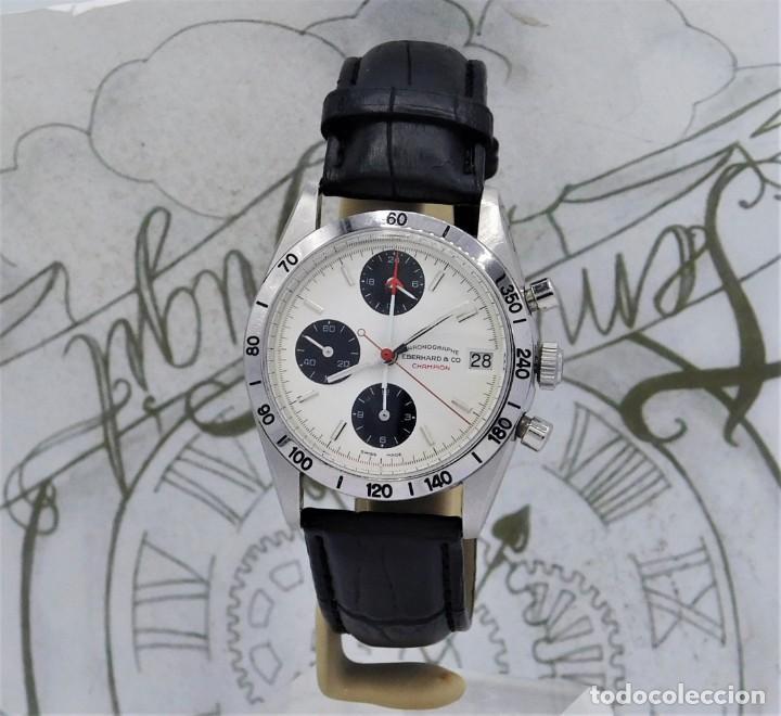 Relojes automáticos: EBERHARD-CRONOGRAFO-AUTOMATICO-PRECIOSO RELOJ DE PULSERA-FUNCIONANDO - Foto 6 - 244755155