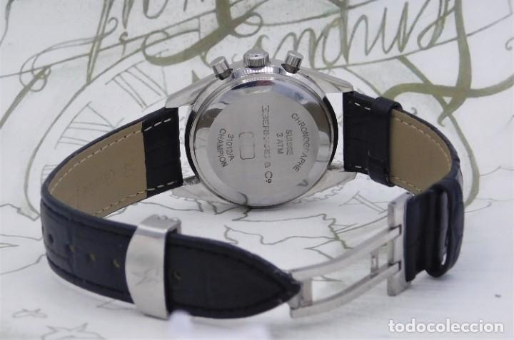 Relojes automáticos: EBERHARD-CRONOGRAFO-AUTOMATICO-PRECIOSO RELOJ DE PULSERA-FUNCIONANDO - Foto 7 - 244755155