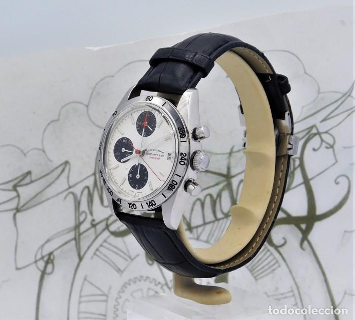 Relojes automáticos: EBERHARD-CRONOGRAFO-AUTOMATICO-PRECIOSO RELOJ DE PULSERA-FUNCIONANDO - Foto 9 - 244755155