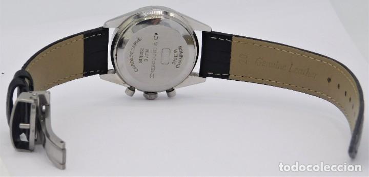 Relojes automáticos: EBERHARD-CRONOGRAFO-AUTOMATICO-PRECIOSO RELOJ DE PULSERA-FUNCIONANDO - Foto 11 - 244755155