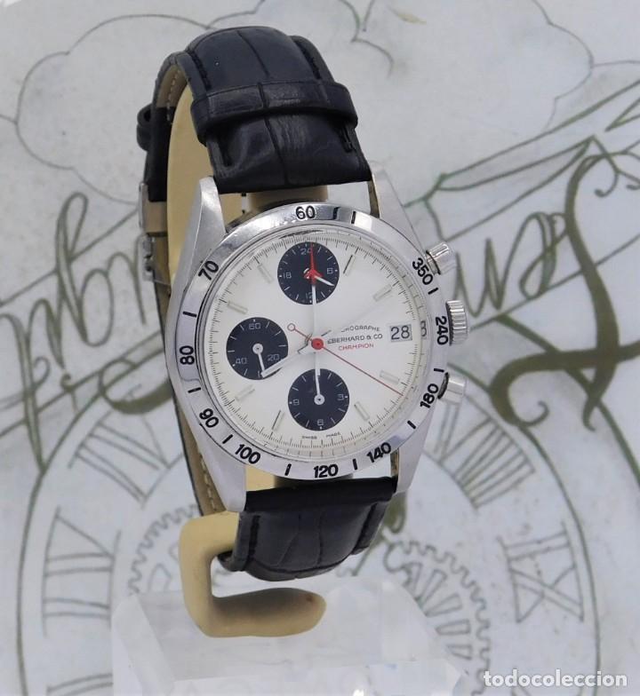 Relojes automáticos: EBERHARD-CRONOGRAFO-AUTOMATICO-PRECIOSO RELOJ DE PULSERA-FUNCIONANDO - Foto 12 - 244755155