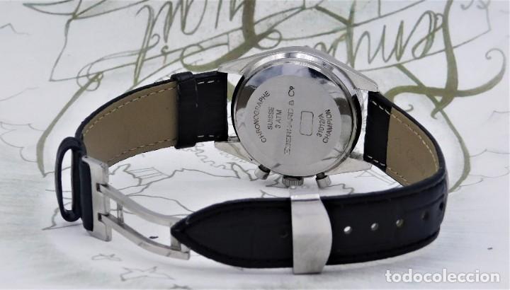 Relojes automáticos: EBERHARD-CRONOGRAFO-AUTOMATICO-PRECIOSO RELOJ DE PULSERA-FUNCIONANDO - Foto 13 - 244755155