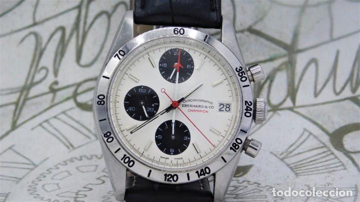 Relojes automáticos: EBERHARD-CRONOGRAFO-AUTOMATICO-PRECIOSO RELOJ DE PULSERA-FUNCIONANDO - Foto 15 - 244755155