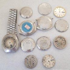Relojes automáticos: LOTE DE PIEZAS CAJAS DE RELOJES JAPONESES SEIKO ORIENT CITIZEN D4. Lote 245165725