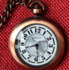 Relojes automáticos: RELOJ DE BOLSILLO QUARZ MACA SONICA LP - 34 MM DE DIAMETRO - FALTA PILA. Lote 245243245