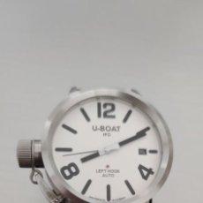 Relojes automáticos: U-BOAT- CLASSICO IFO LEFT HOOK. HOMBRE 2.000-2.010. AUTOMÁTICO.. Lote 245394630