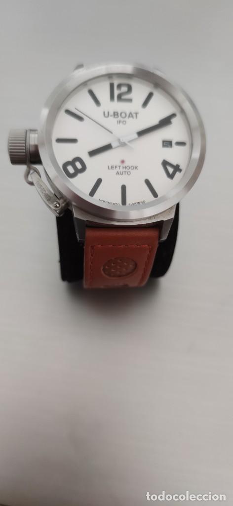 Relojes automáticos: U-BOAT- CLASSICO IFO LEFT HOOK. HOMBRE 2.000-2.010. AUTOMÁTICO. - Foto 2 - 245394630