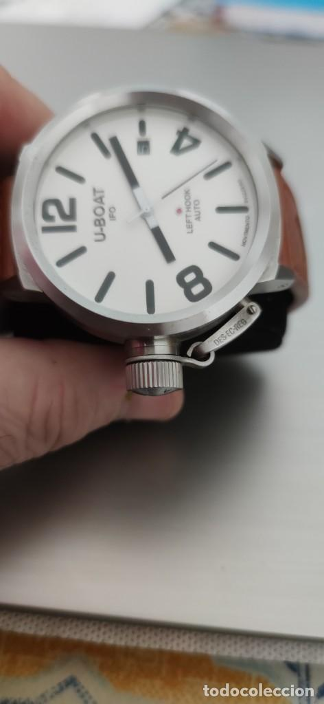 Relojes automáticos: U-BOAT- CLASSICO IFO LEFT HOOK. HOMBRE 2.000-2.010. AUTOMÁTICO. - Foto 6 - 245394630