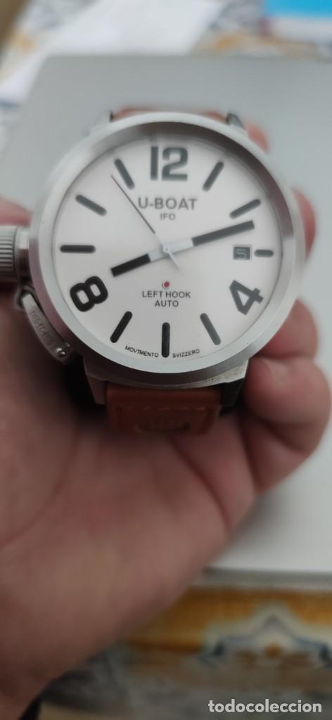 Relojes automáticos: U-BOAT- CLASSICO IFO LEFT HOOK. HOMBRE 2.000-2.010. AUTOMÁTICO. - Foto 8 - 245394630