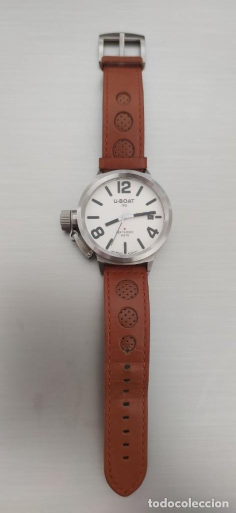 Relojes automáticos: U-BOAT- CLASSICO IFO LEFT HOOK. HOMBRE 2.000-2.010. AUTOMÁTICO. - Foto 14 - 245394630