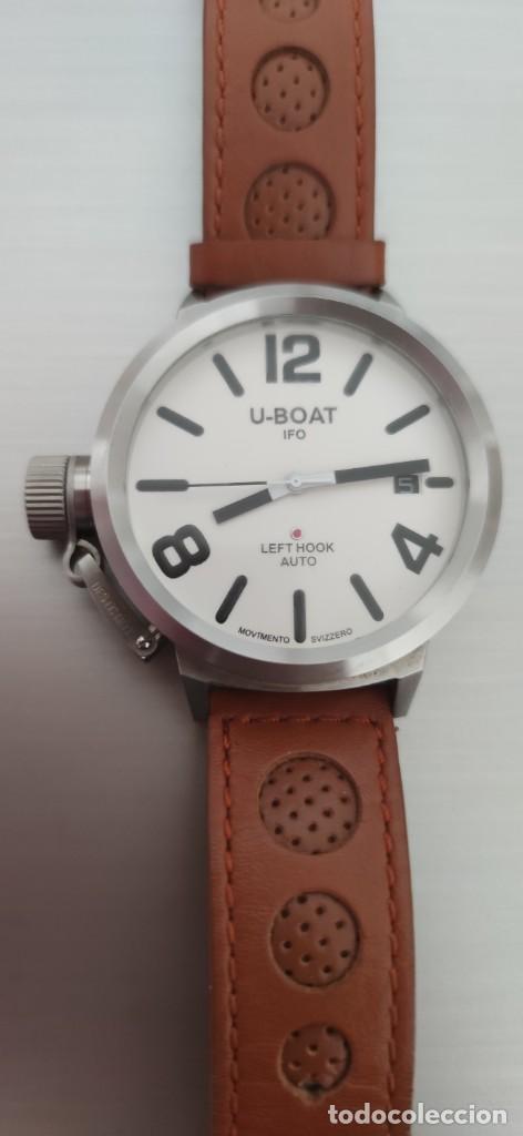 Relojes automáticos: U-BOAT- CLASSICO IFO LEFT HOOK. HOMBRE 2.000-2.010. AUTOMÁTICO. - Foto 16 - 245394630