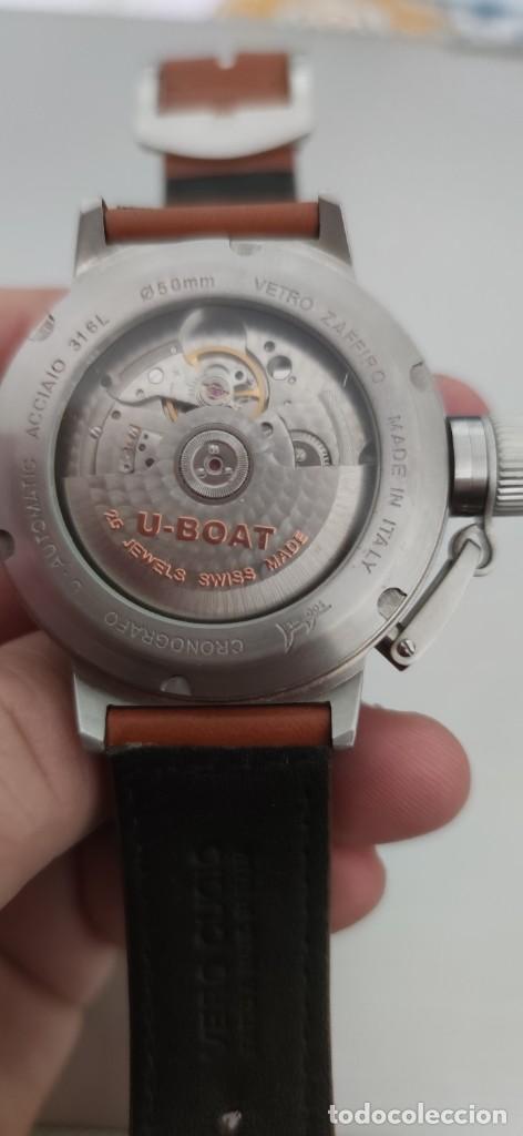 Relojes automáticos: U-BOAT- CLASSICO IFO LEFT HOOK. HOMBRE 2.000-2.010. AUTOMÁTICO. - Foto 17 - 245394630