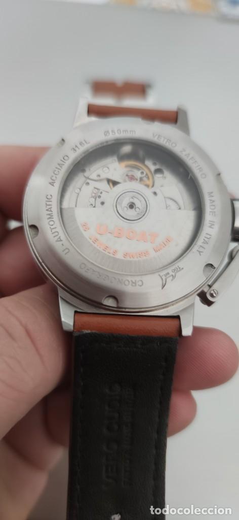 Relojes automáticos: U-BOAT- CLASSICO IFO LEFT HOOK. HOMBRE 2.000-2.010. AUTOMÁTICO. - Foto 18 - 245394630