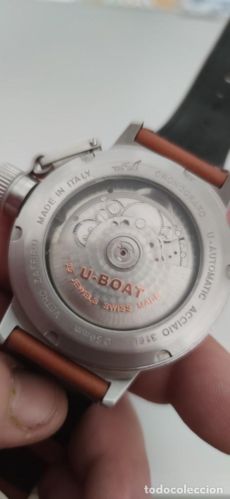 Relojes automáticos: U-BOAT- CLASSICO IFO LEFT HOOK. HOMBRE 2.000-2.010. AUTOMÁTICO. - Foto 19 - 245394630