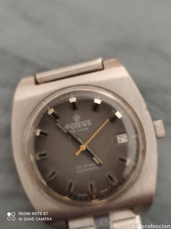 Relojes automáticos: Reloj POTENS de Luxe automático de acero, 25 rubís, - Foto 2 - 245429980