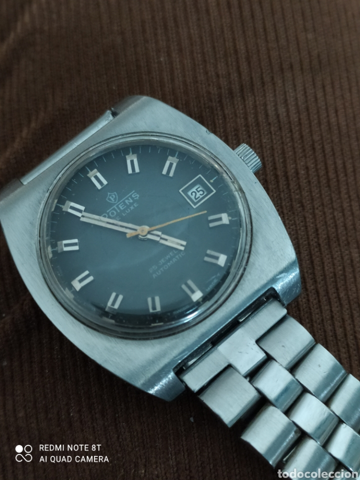 Relojes automáticos: Reloj POTENS de Luxe automático de acero, 25 rubís, - Foto 3 - 245429980