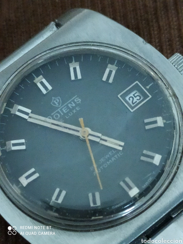 Relojes automáticos: Reloj POTENS de Luxe automático de acero, 25 rubís, - Foto 4 - 245429980