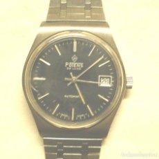 Relojes automáticos: POTENS RELOJ AUTOMATICO, CALENDARIO, FUNCIONA. MED. 34 MM SIN CONTAR CORONA. Lote 245455055