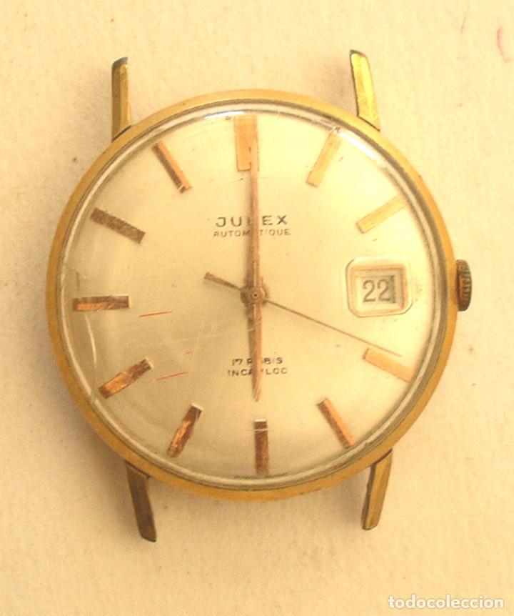 JUPEX AUTOMÁTICO, CALENDARIO, FUNCIONA. MED. 32 MM SIN CONTAR CORONA (Relojes - Relojes Automáticos)