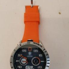 Relojes automáticos: RELOJ CALGARY GP RACING 2014. Lote 245492085