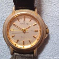 Relojes automáticos: RELOJ SEÑORA MARCA EDGARD, DESCONOCIDA, QUARTZ, NO FUNCIONA. Lote 246105815