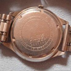 Relojes automáticos: RELOJ CITIZEN DE LA SERIE 555, RARO, DOBLE CALENDARIO, CRISTALES EN 6,9 Y 12. NO FUNCIONA. Lote 246106575
