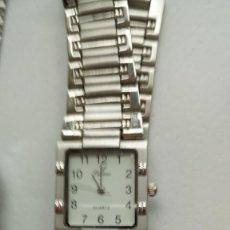 Relojes automáticos: RELOJ CON PULSERA DE CADETE MAQUINARIA CUARZO. Lote 246156680