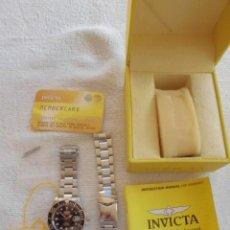 Relojes automáticos: AUTOMÁTICO INVICTA SWISS 9937A 200 METROS, HOMENAJE A ROLEX SUBMARINER, NO OMEGA, GRAN CALIDAD. Lote 247065040