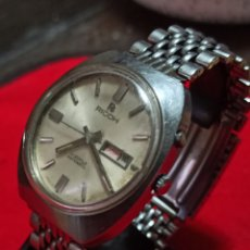 Relojes automáticos: RELOJ RICOH 21 JEWES AUTOMÁTICO DOBLE CALENDARIO FUNCIONA. Lote 247458100