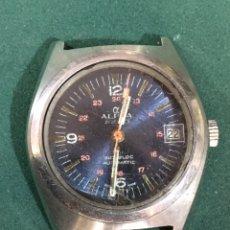 Relojes automáticos: RELOJ ALPHA AUTOMATICO. Lote 248702495