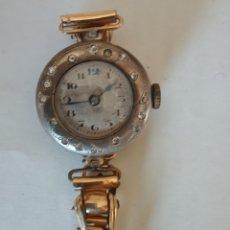 Relojes automáticos: RELOJ VINTAGE WARZA MUJER NO FUNCIONA. Lote 249163770