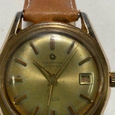 Relojes automáticos: RELOJ CERTINA DS TORTUGA .25-451 AUTOMATICO AÑOS 50 PARA COLECCIONISTAS. Lote 253330165