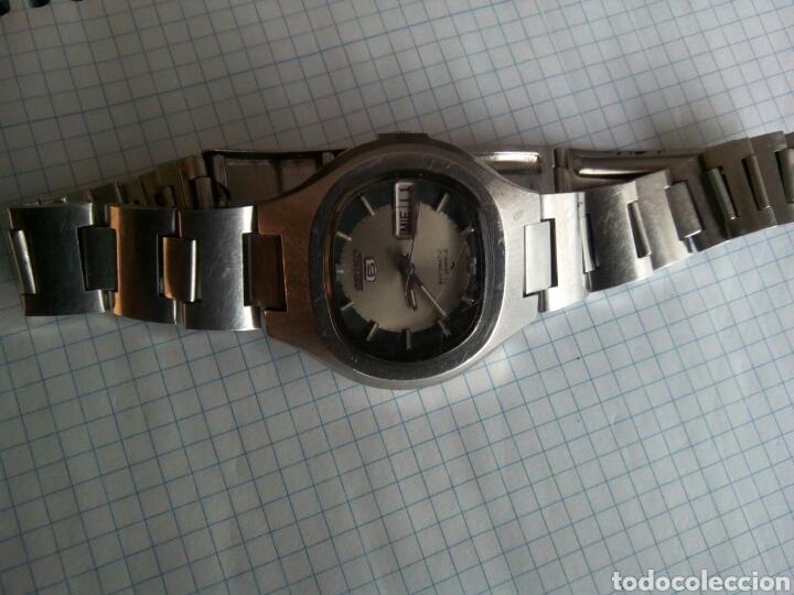 Relojes automáticos: Interesante y difícil de encontrar reloj Seiko 5 automático - Foto 4 - 253410245