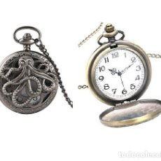 Relojes automáticos: RELOJ BOLSILLO PULPO (CON CAJA). Lote 254101255