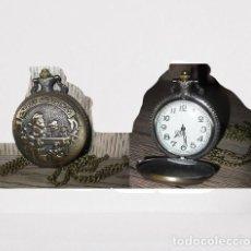 Relojes automáticos: RELOJ BOLSILLO SANTA CLAUS, PAPA NOEL, NAVIDAD (CON CAJA). Lote 254101570