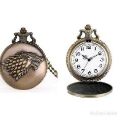 Relojes automáticos: RELOJ BOLSILLO LEON TIGRE (CON CAJA). Lote 254101740