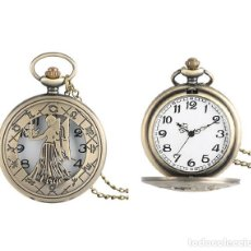 Relojes automáticos: RELOJ BOLSILLO VIRGO (SIMBOLO DEL ZODIACO) (CON CAJA). Lote 254103160