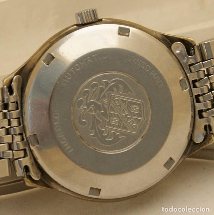 Relojes automáticos: DUWARD AUTOMATIC OCEANIC CONTINUAL OVERIZE 37MM DOBLE VENTANA CALENDARIO - Foto 6 - 269384993