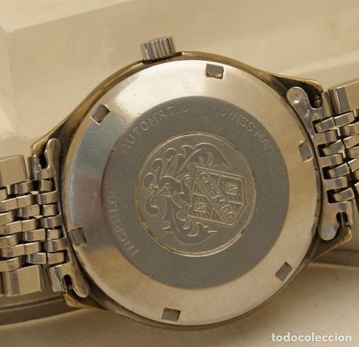 Relojes automáticos: DUWARD AUTOMATIC OCEANIC CONTINUAL OVERIZE 37MM DOBLE VENTANA CALENDARIO - Foto 7 - 269384993