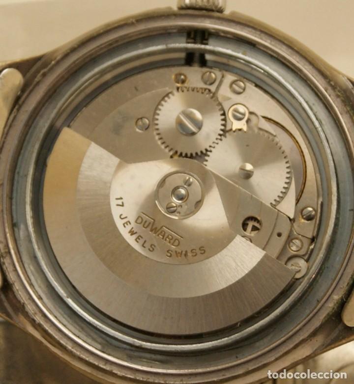 Relojes automáticos: DUWARD AUTOMATIC OCEANIC CONTINUAL OVERIZE 37MM DOBLE VENTANA CALENDARIO - Foto 8 - 269384993