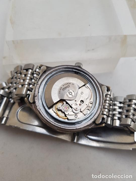 Relojes automáticos: DUWARD AUTOMATIC OCEANIC CONTINUAL OVERIZE 37MM DOBLE VENTANA CALENDARIO - Foto 10 - 269384993
