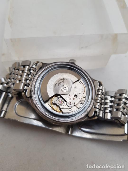 Relojes automáticos: DUWARD AUTOMATIC OCEANIC CONTINUAL OVERIZE 37MM DOBLE VENTANA CALENDARIO - Foto 11 - 269384993