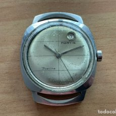 Relógios automáticos: FORTIS TRUE LÍNE AUTOMATIC 21 JEWELS INCABLOC FUNCIONA. Lote 254972450