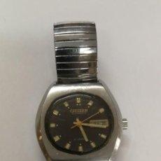Relojes automáticos: RELOJ ANTIGUO MARCA CITIZEN AUTOMATIC CON CALENDARIO. FUNCIONA. Lote 255556440