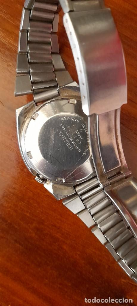 Relojes automáticos: antiguo reloj de pulsera caballero,automatico seiko 5, 21 jewels - Foto 3 - 255920330