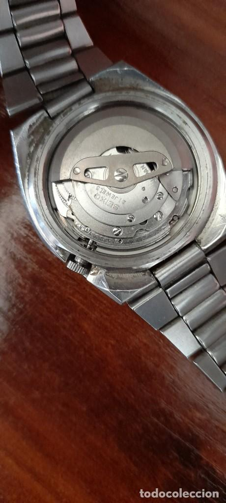 Relojes automáticos: antiguo reloj de pulsera caballero,automatico seiko 5, 21 jewels - Foto 4 - 255920330